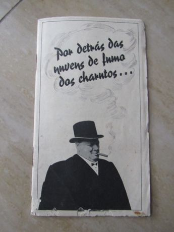 Brochura de propaganda anti Winston Churchill publicado no Estado Novo