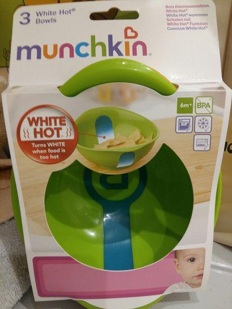 Термочувствительные тарелочки Munchkin с 6 мес