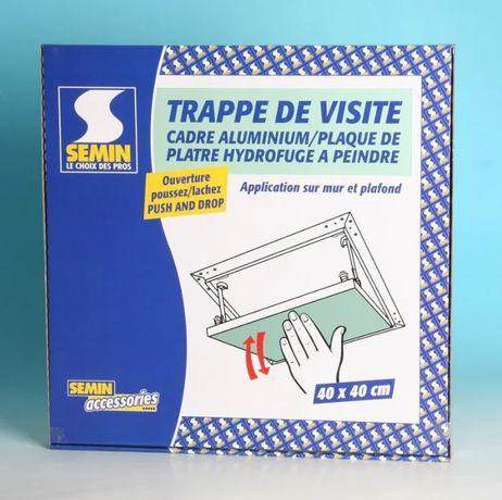 Продам ревизионный люк Semin 40x40 cm Push and Drop, влагостойкий