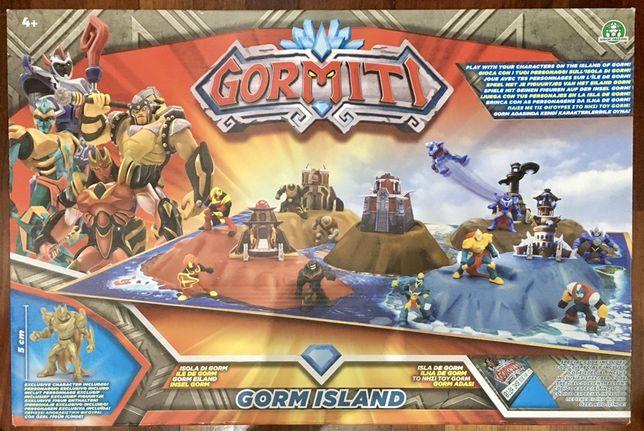 A Ilha de Gormiti + 1 Figura - Giochi