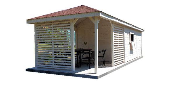 Domek narzędziowy drewutnia altana domki narzędziowe drewutnie 7x4m