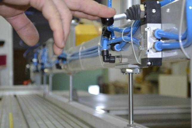 Belka dociskowa do piły formatowej docisk pneumatyczny