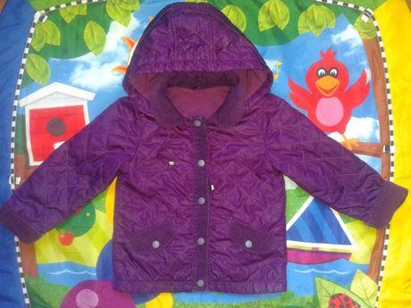 Демисезонная курточка, ветровка стеганная фирмы BEMBI на 86 см. 1-2 г.