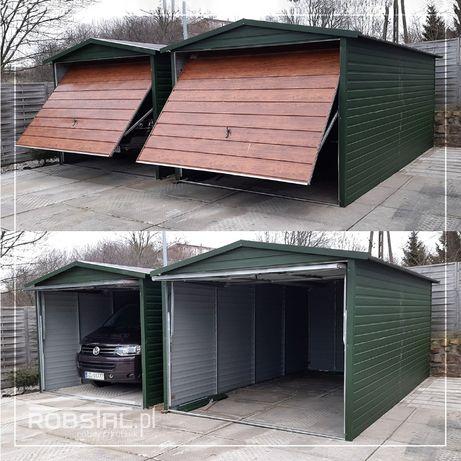 Garaż blaszany 3x5 3x5 4x5 i inne wymiary garaże z obróbką PRODUCENT