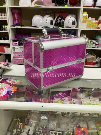 Бьюти-кейс сумка мастера маникюра, кейс визажиста, чемодан для космети