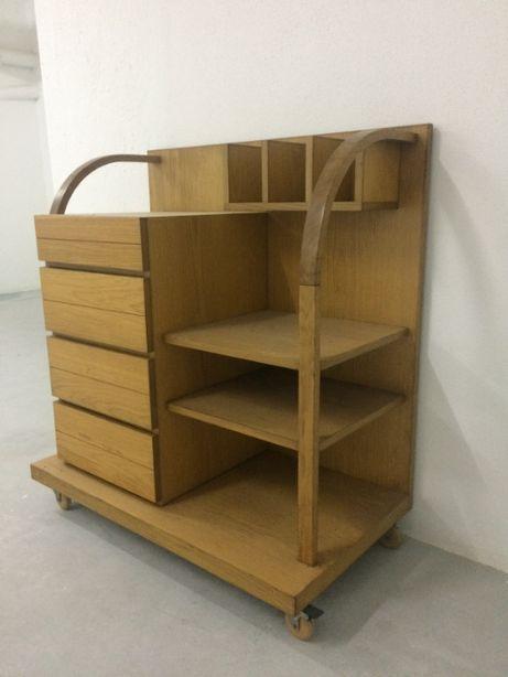 Móvel armario estante madeira original moderno art deco vintage olaio