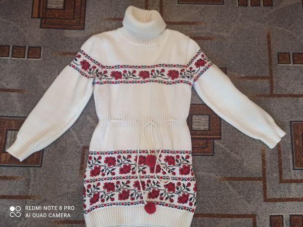 Туника платье зимняя