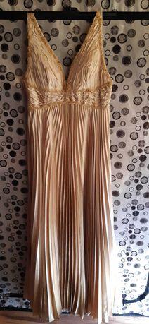 suknia złota S/M
