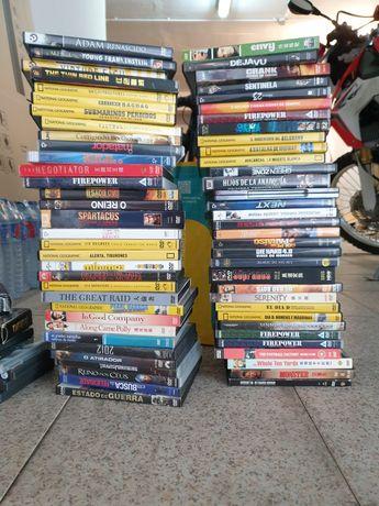 Vários DVDs seleção variada