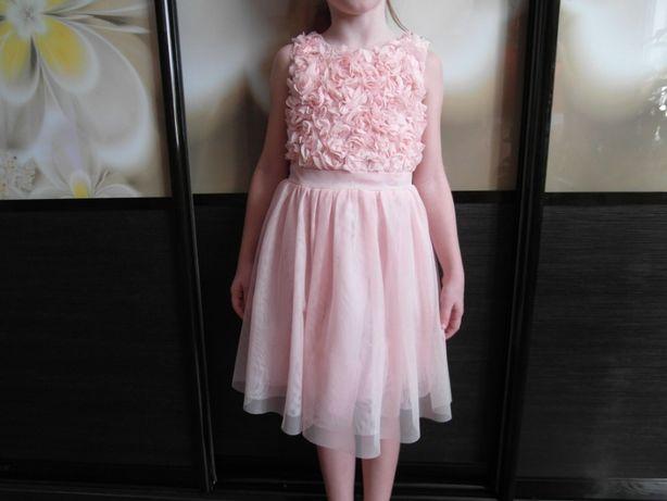 Очень красивое, нарядное платье H&M. / 5-6 лет.