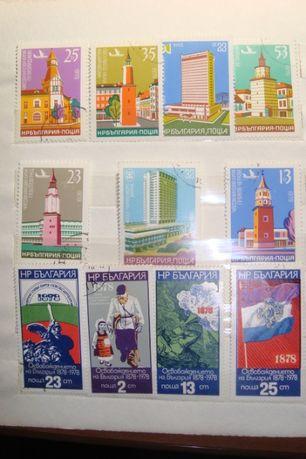 Марки Болгария (наборы), Чехословакия, Германия