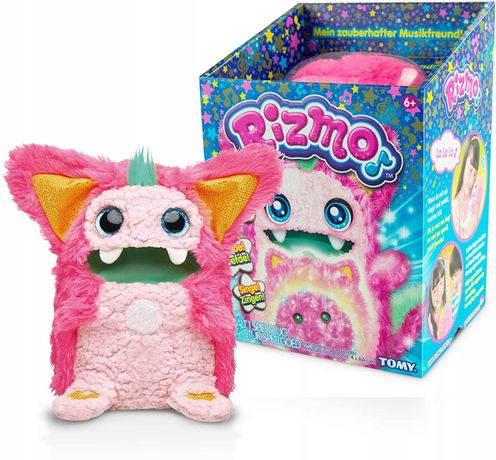 Интерактивная игрушка питомец Ризмо розовый Rizmo Evolving Musical Fri