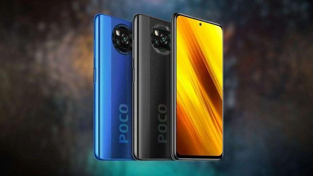 Мобильный телефон смартфон Xiaomi POCO X3 6/64 4/64 . Глобал.