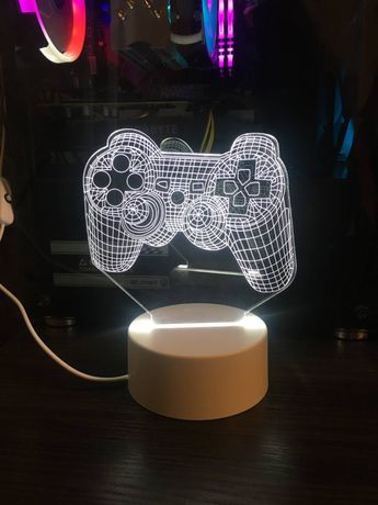 Продам новый 3Д-светильник, ночник