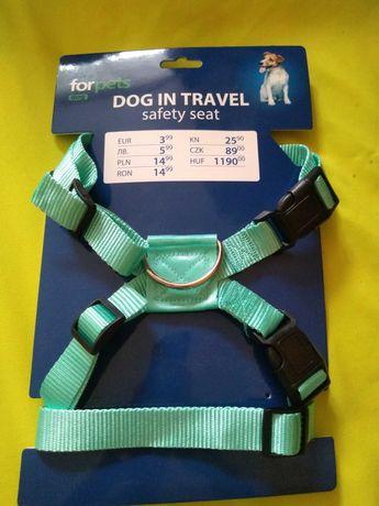 Szelki samochodowe + pas bezpieczeństwa dla psa