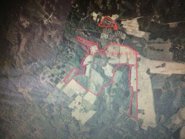 Ziemia rolna 85,6 ha orna 4 klasy z budynkami Unieszyno, Lębork