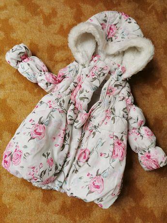 Piękna kurtka dziecięca zimowa