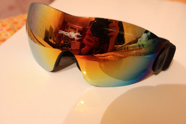 Спортивные лыжные мотоциклетные велосипедные очки SPIDER
