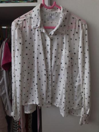 Koszula z wycięciem na plecach 128-134