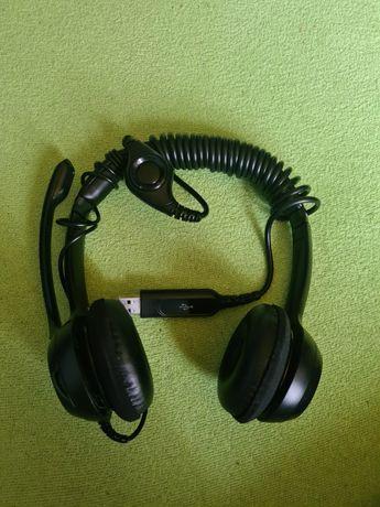 Słuchawki z mikrofonem Logi