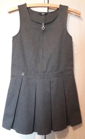 Sukienka ciemnoszara dziecięca