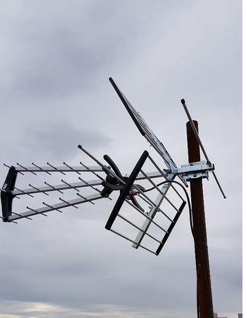 Antena DVBT Opticum AX 1000+Combo +wzmacniacz liniowy
