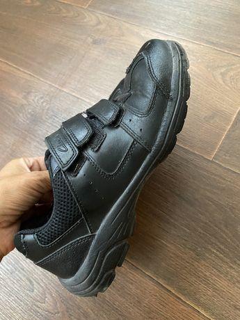 Школьные туфли , спортивные туфли clarks, кожа