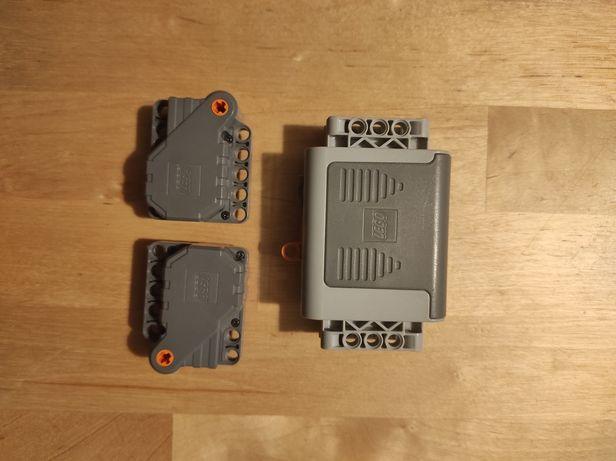 Trzy silniki LEGO Technics w pełni sprawne