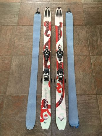 Narty skiturowe Dynafit Laila Peak 163 cm+wiązania Diamir Vipec12+foki