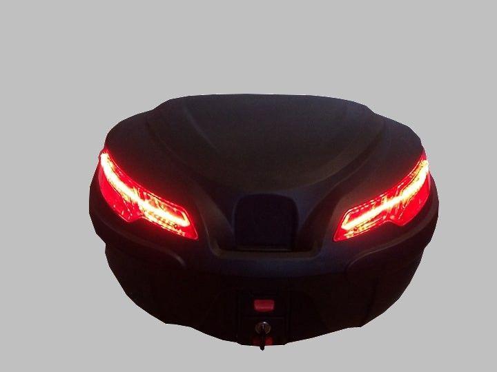 NOWY Kufer motocyklowy K-MAX LED centralny 50L podobny do GIVI monokey
