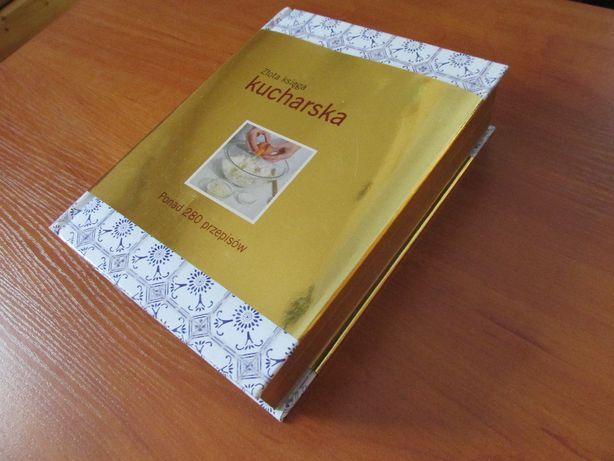 Złota księga kucharska,280 przepisów.
