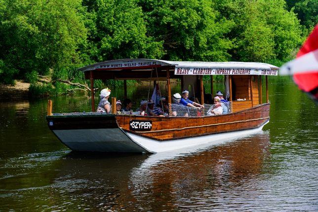 Łódź motorowa - Statek pasażerski - Barka wycieczkowa