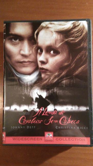 DVD A lenda do cavaleiro sem cabeça