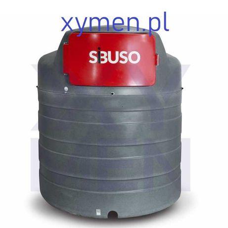 Zbiornik na ropę ON dwupłaszczowy 2500L SiBUSO
