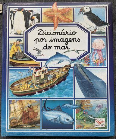 Dicionário por imagens do mar - Como novo