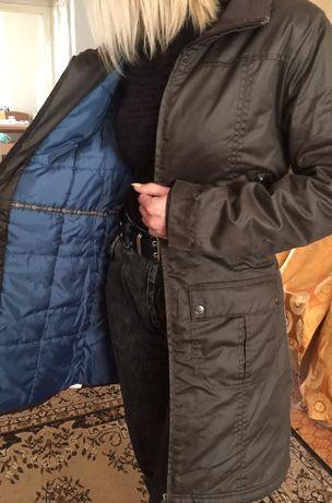 Пальто пуховик зимнее женское