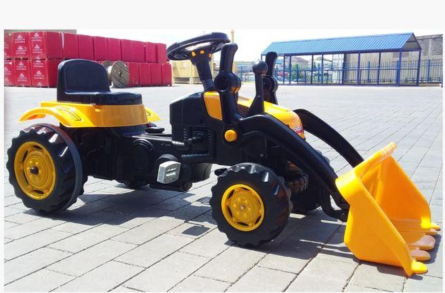 Pilsan Педальный трактор экскаватор с ковшомActive Traktor Велотрактор