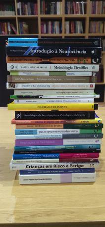 Livros universitários novos