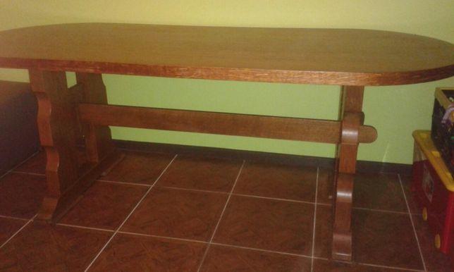 Stol drewniany solidny