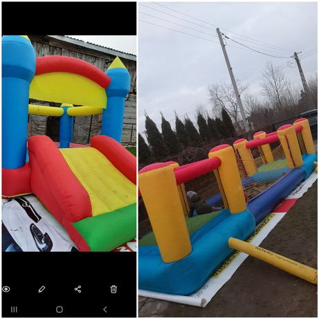 Zamek dmuchany dmuchaniec trampolina