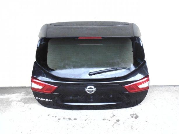 Nissan Qashqai j11 tylna klapa czarna 13-18rok zderzak tyl lampy