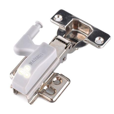 Dobradiça LED Sensor de Luz OFEREÇO Bateria