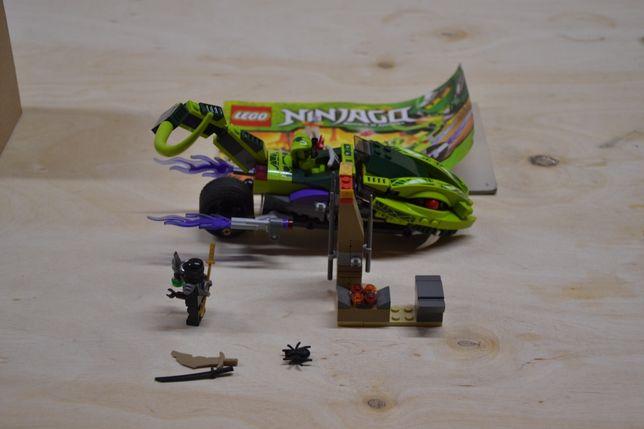 lego ninjago 9447 motor wąż