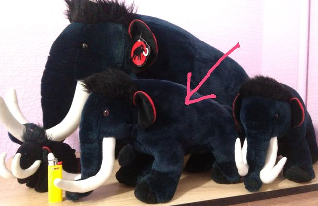 Фирменная мягкая игрушка Mammut