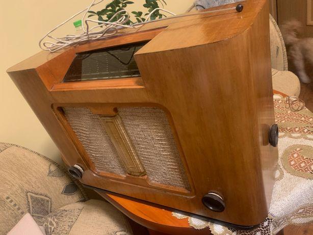 RADIO Philips 4-38A - Polskie Zakłady Philips S.A. 1938r. ANTYK