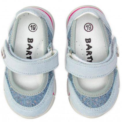buty BARTEK 51058/65F niebieskie 22 dla dziewczynki