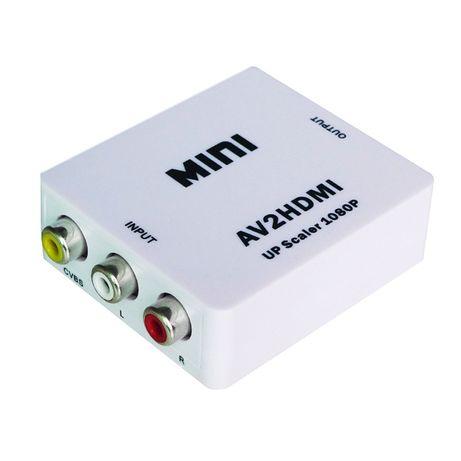 Konwerter sygnału 3x Cinch RCA do HDMI lub HDMI do RCA 3x Cinch Wwa