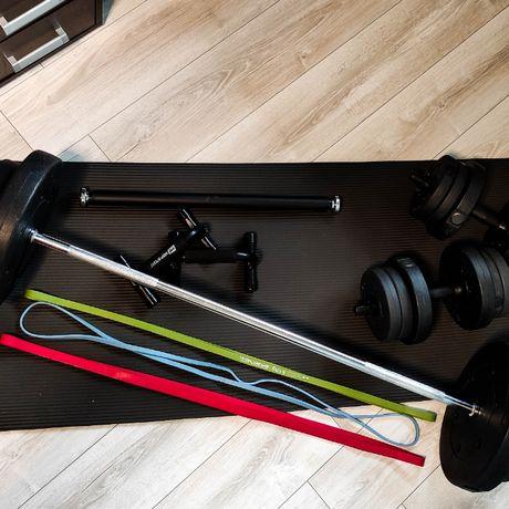 Zestaw treningowy do ćwiczeń w domu lub w piwnicy - dostawa gratis!