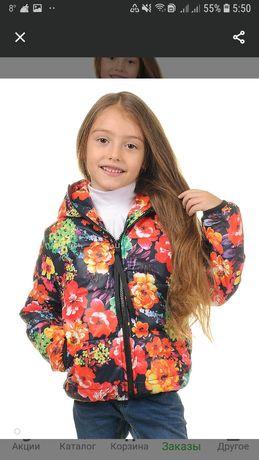 Куртка весенняя  веировка тепленькая,до +5точно.