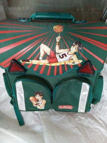 Школьный каркасный рюкзак Herlitz для мальчика